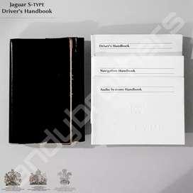 Buku Drivers - Owners Manual Book JAGUAR S-TYPE 1999-2008 ORIGINAL