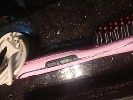 Brush Hair Straightner