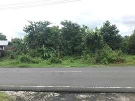 DIJUAL TANAH 825m | Strategis Pinggir Jalan Raya