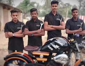 Expert Bike mechanic require in nayapali location