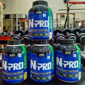 ANS N-Pro 4 lb lbs time release protein whey casein egg