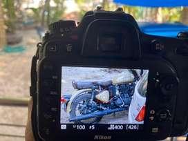 Nikon Camara with lense