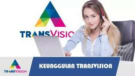 Promo murah pasang Trânsvision HD cuma 420rb