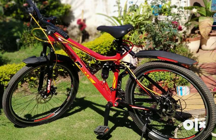 MTB Full Suspension Bicycle with Dual disk brakes 0