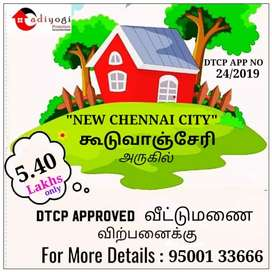 DTCP APPROVED -LOWEST PRICE- NEW CHENNAI CITY- PLOTS
