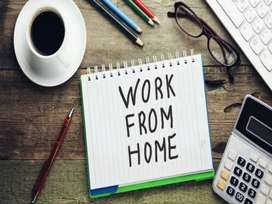Work from home / Part Time / Home Based Work