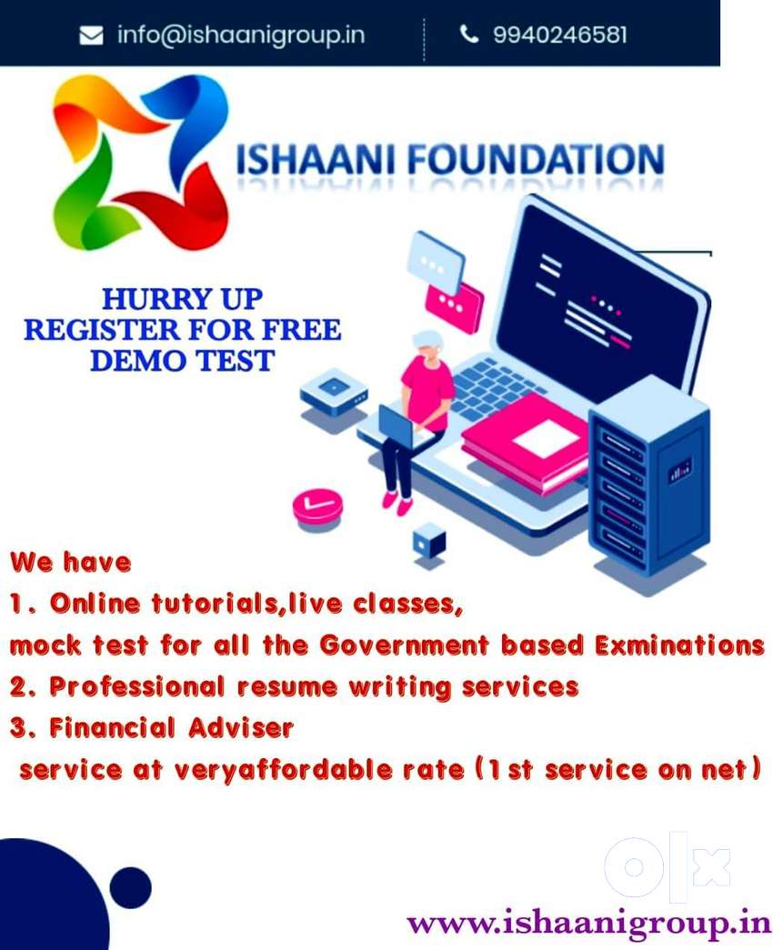 Ishaani Foundation ( online platform for academic and professional 0