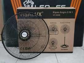 PROMO NI - KIPAS ANGIN INDUSTRIAL BESI 3IN1 VISALUX VSTW 45 18INC -OKE