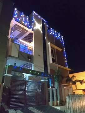 G plus one floor building.located at boduppal