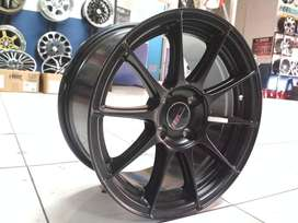 velg racing timor ring 15 warna black
