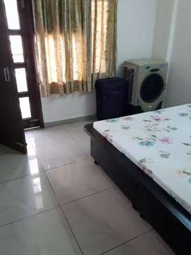 1 Room set furnished sec 51 society flat for Decent Girls preferred