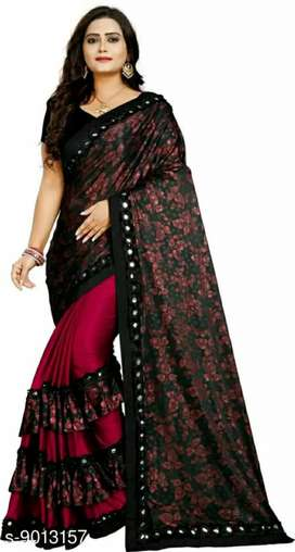 Women's designer sarees (Cod available)