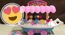 Mainan Gerobak Ice Cream Besar BTL