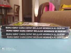 Buku IQRO Cara Cepat Membaca Al-Qur'an