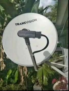 Promo Pasang Parabola Transvision HD Pare2 Paket Hemat Setahun+bonus