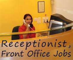 Urgent Need CCE / Receptionists/ Back Office Executive in Bank