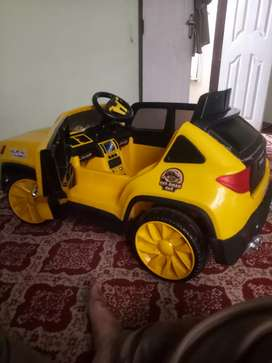 kids electric jeep 2 motor big battery Manuel and remote