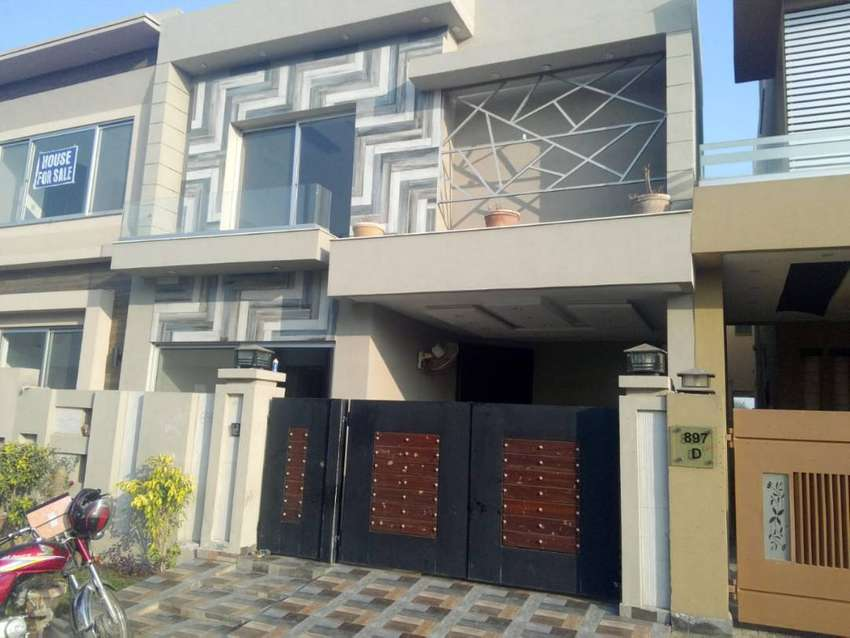 5 Marla brand new bungalow semi furnished Phase 6 block D 0