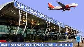 Ground staff jobs in Bhubaneshwar Airport