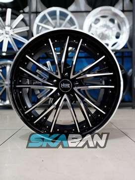 hsr wheel type pasi ring 19x7,5 h5(114,3) utk crv,hrv,xtrail,mazda cx5