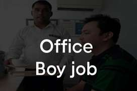 Urgent Office Boy Needed for Office Work - ( In Night Shift)