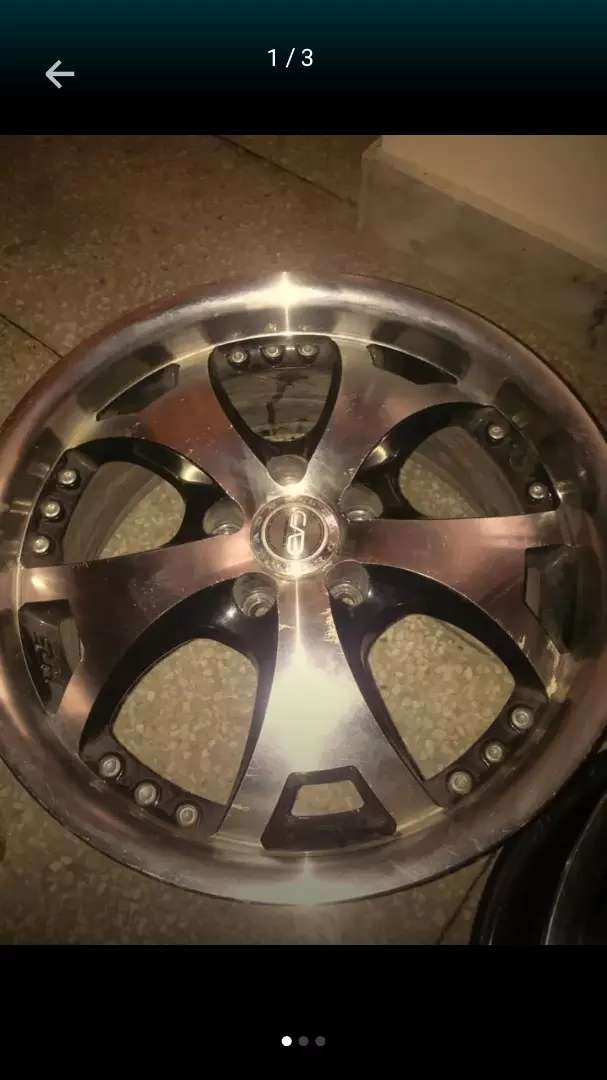 """High Quality 15"""" inch Alloy Rims 5 Nuts 0"""