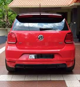 Polo back bumper skirting
