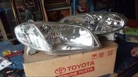 Lampu Depan Vios Ori 2004 s.d 2007
