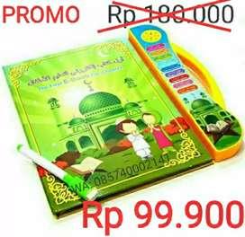Buku Ajaib Ebook Muslim 3 Bahasa (Touchscreen)
