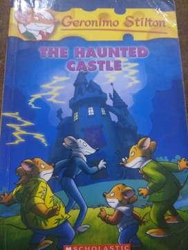 Geronimo Stilton the haunted castle (story book)