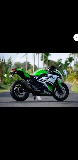 Jual ninja 300cc limiten edition