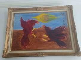 Lukisan Fighter