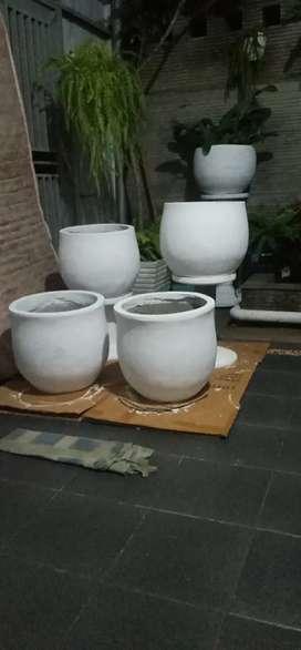 Pot bunga antik