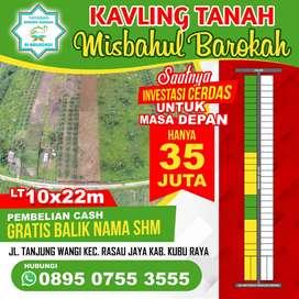 Tanah Kavling Murah 35jt, Free Balik Nama