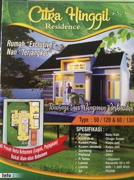 """Rumah """"Exclusive"""" Nan """"Terjangkau, Pusat kota, Dekat alun alun Kebumen"""