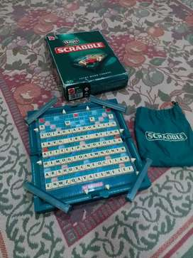 Scrabble Foldable Case Broad Game,Word Game,Skill and Action Game