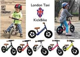 Balance bike pushbike london taxi strider odessy dll