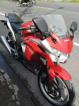 CBR 250cc 2012 istimewa ban baru semua
