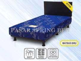 FreOngkir Spring Bed Kasur Musterring MultibedViennaBiruHBChicago90Set