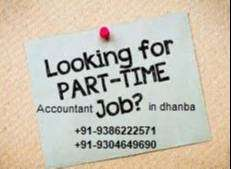 Part time accountant available for dhanbad- area