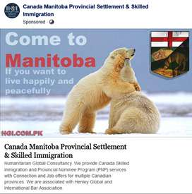 Manitoba PNP without Job Offer Canadian Permanent Residency