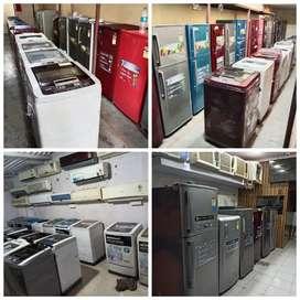 5 YEAR'S WARRANTY ON fridge//washing machine delivery free thane mum