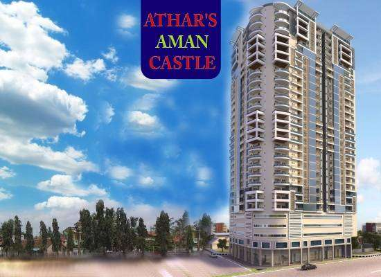 Athar's Aman Castle 3 Bed Luxurious 1850 Sq Yds Apartment 0