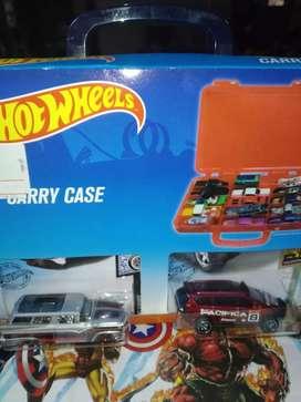 hotwheels box case isi ada 2 hothweels nya