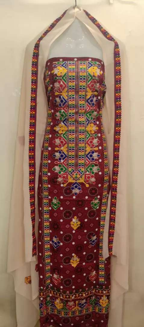 *Lilon stuff!!*  Ajrak  *Lilon Embroidered 0