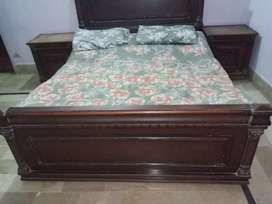 SET OF WHOLE WOODEN FURNITURE