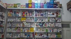 Alhabib pharmacy & Cosmetics shop size 11×21 shop rent 20000