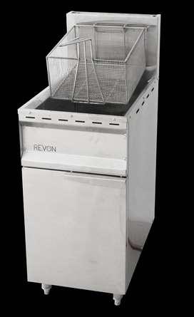 Deep Fryer Gas Mesin Penggoreng Dengan Suhu Stabil Dan Cepat Matang