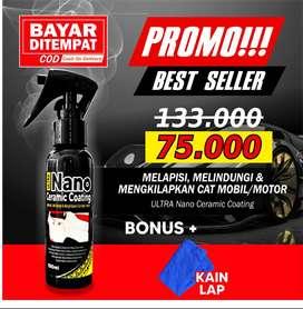 SIAP KIRIM !! NANO CERAMIC Pelindung dan Pengkilap Cat Motor/Mobil