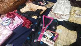 Deals on cotton dress and branded jewellery
